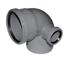 Колено правое 100/50/90 мм производства Украина