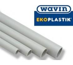 Труба  Ekoplastik  Wavin  PPR  d-20 мм  (PN-20)  для холодной, горячей воды