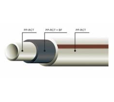 Труба Ekoplastik  Wavin  Fiber Basalt Plus d-20 мм  для системы внутреннего водоснабжения и отопления
